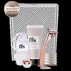 FFS Beauty small shaving set – rose